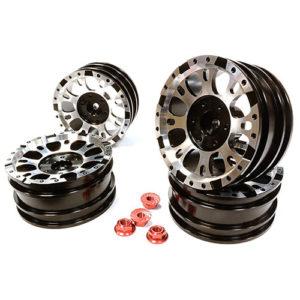 1.9 – Realistic 1.9 Size X8U Alloy Wheel (4)+M4 Nut – NOT BEADLOCKS