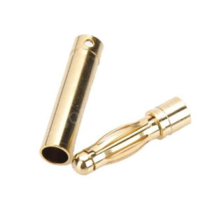 4.0mm banana plugs (3 pair) with Heat Shrink Tube