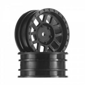 Axial – 1.9 Method Mesh Wheels – Black (2pcs)