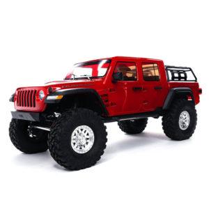 SCX10-III Jeep JT Gladiator w/Portals 1/10th RTR Red