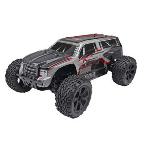 REDCAT BLACKOUT 1/10 Scale Electric Monster Truck – Silver SUV – 4WD