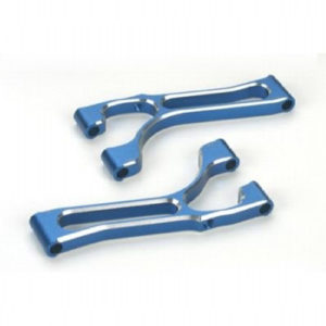 Alloy Upper Suspension Arms Blue 2x