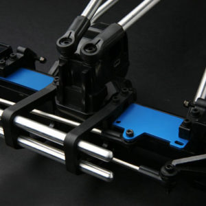G – Made-Blue Duralumin Axle stay for Axle