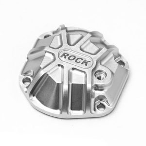 G-Made – 3D Machined Differential Cover (Silver) for GS01 Axle