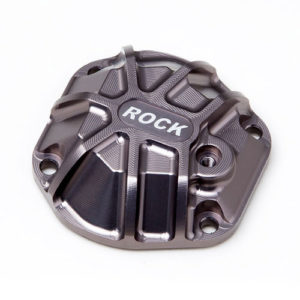 G-Made – 3D Machined Differential Cover (Titanium Gray) for GS01 Axle