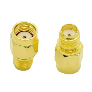 RPSMA-Male to SMA-Female Adapter – EACH