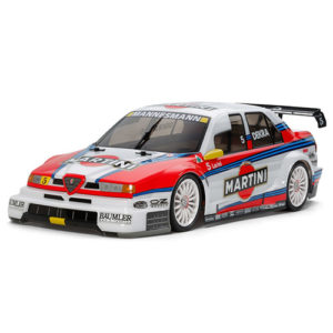 TAMIYA 1/10 Alfa Romeo 155 V6 TI Martini (TT02) – RTR
