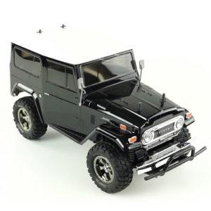 TAMIYA – 1/10 Toyota Land Cruiser 40 CC Black 4WD Kit – RTR