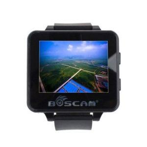 Boscam FPV200 racing drone receiver watch 48CH 5.8GHz black
